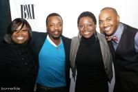 A fun moment with Crystal Aikin, Anthony and Tarsha Hamilton, and Jonathan Nelson