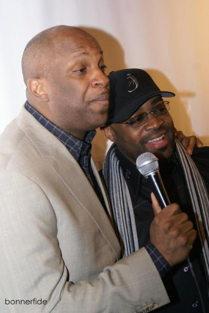 BMI Honoree Donnie McClurkin and J. Moss