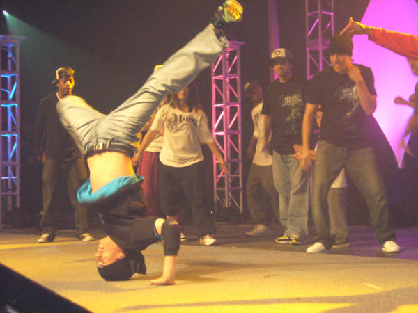 Breaking at the Holy Hip Hop Awards
