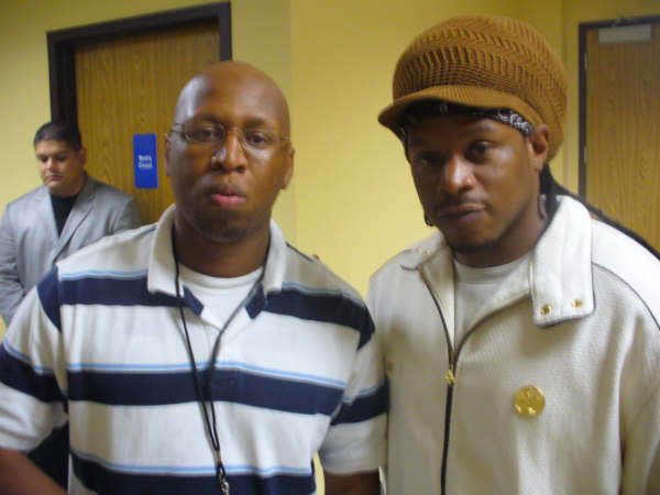 GOSPELflava.com's Dwayne Lacy and Sway