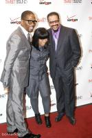 Donald Lawrence shares a laugh with DC Judges Maurette Brown Clark and Richard Smallwood