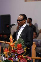 Edwin Hawkins reminisces about working on Leap of Faith movie with Albertina Walker