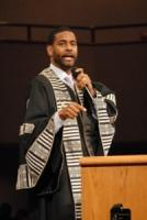 Pastor Otis Moss III delivers the eulogy
