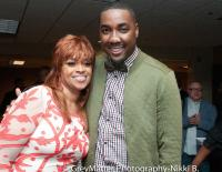 Karen with American Idol's George Huff