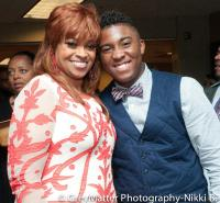 Karen with Joshua Rodgers