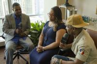 Andre Griffith interviews Tasha Page-Lockhart and Kirk Franklin