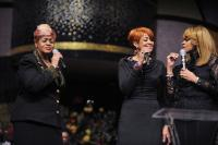 The Clark Sisters pay tribute to Andrae Crouch