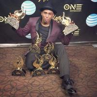 Anthony Brown with MANY Stellar Awards