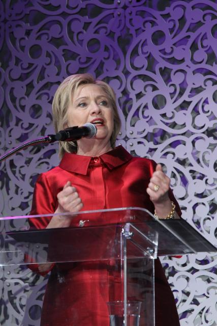 Hilary Clinton at the 2016 Stellar Awards in Las Vegas