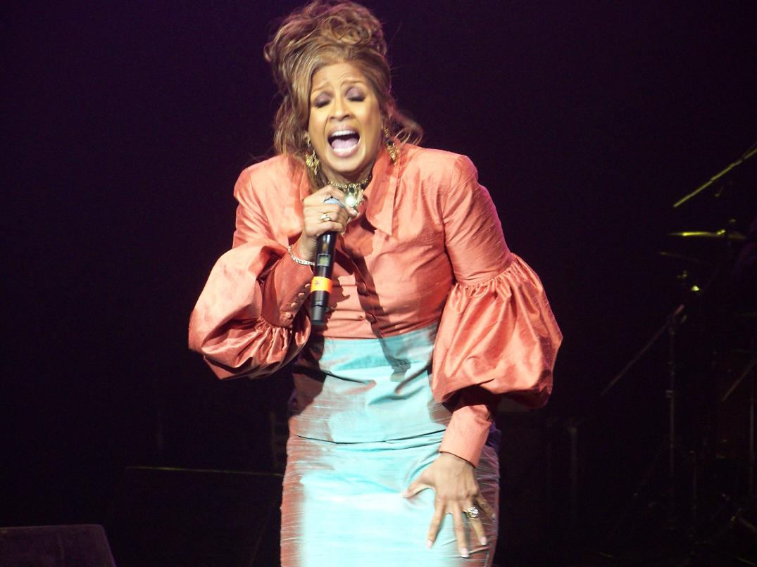 Dorinda Clark-Cole stealing the show