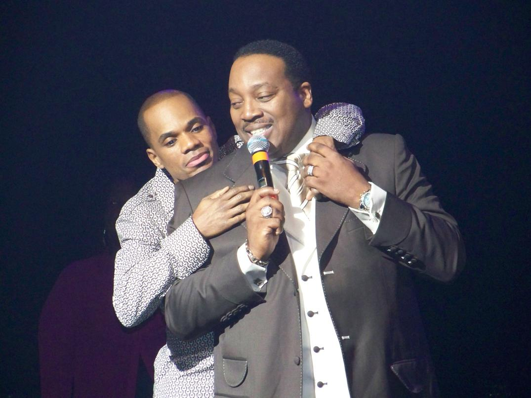 Kirk Franklin could take Marvin Sapp if need be
