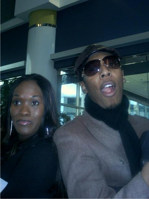 Damita and Deitrick Haddon