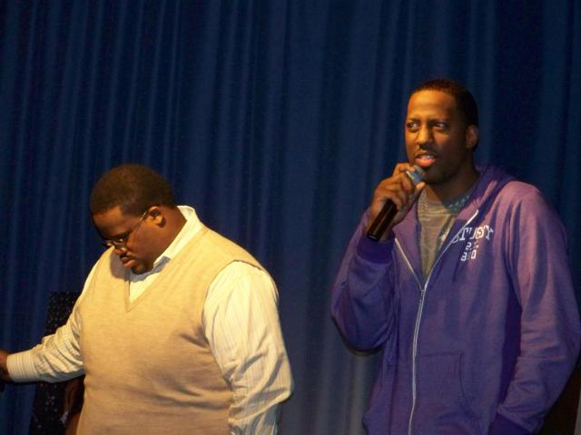 Lowell Pye and Isaac Carree share their experiences with Donald Lawrence