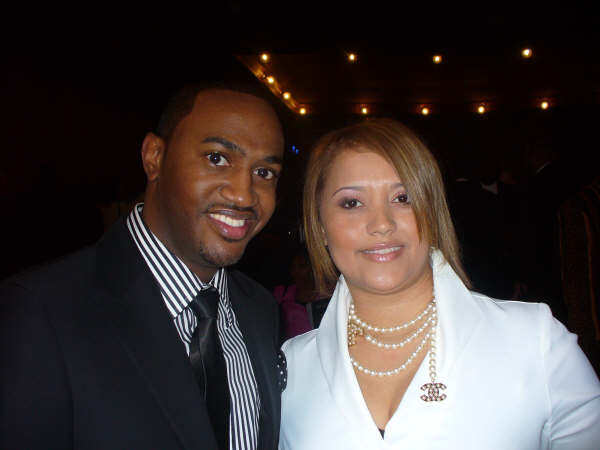 Jonathan Nelson and wife, Christiana