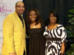 Charmaine Swimpson with Sunday Best alumnus Tasha Collins and husband Phil Collins