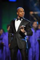 Kirk Franklin giving tribute to Rev. Timothy Wright