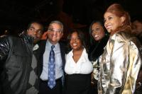 Rodney Jerkins, BMI exec. Del Bryant and Sheri Sheppard