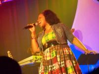 Kierra Sheard blazes the house with Jesus Is a Love Song