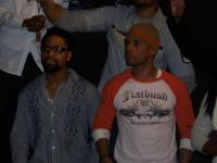 Fitzgerald and Kirk Franklin check out James Fortune and FIYA