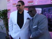 Heavy D and Warryn Campbell