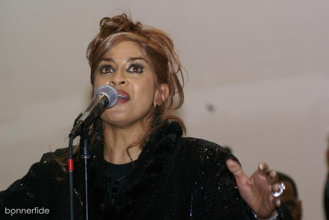 Dorinda Clark-Cole with some serious vocals