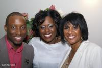 Kevin Branch, Jessica Greene, and April Washington Essex