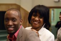 Manager Kevin Branch and Habakkuk CEO April Washington-Essex