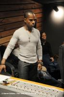 Kirk Franklin at the board