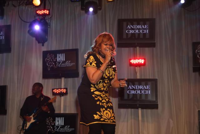 Karen Clark Sheard doing her good singing