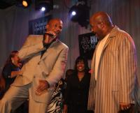 Donnie McClurkin with Marvin L. Winans