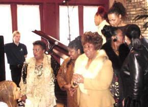 Dorothy Norwood, Albertina Walker, Kim Burrell, Dottie Peoples, Mary Mary, Vickie Winans