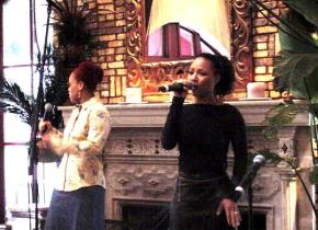 Mary Mary at the BMI Luncheon