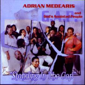 Adrian Medearis and God's Anointed People CD