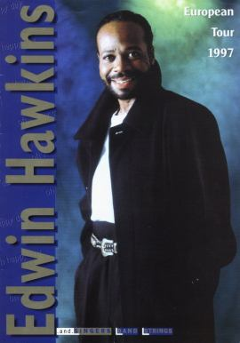 Edwin Hawkins poster from one of his European Tours