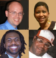 GospelFlava.com:  Melanie  Clark, Stan North, James Robinson, Gerard Bonner