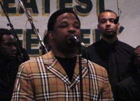 Pastor Hezekiah Walker Introducing Kervy Brown