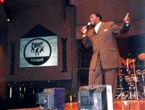 Desmond Pringle, opening for Kim Burrell at her live recording