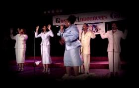 The Kurt Carr Singers at the GMWA in New Orleans