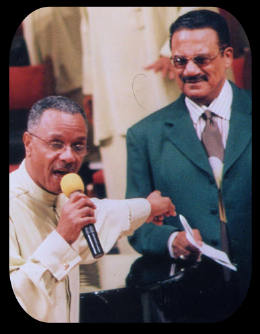 George Jordan with Maceo Wood