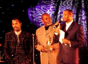 The Williams Brothers accepting one of their Stellar Awards