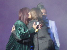 Dorinda Clark-Cole, Eveyln Turrentine-Agee and Dottie Peoples