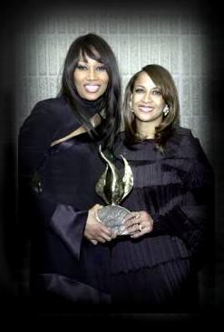 Yolanda Adams with Dorinda Clark-Cole