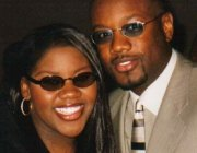Kelly Price with husband Jeff Rolle