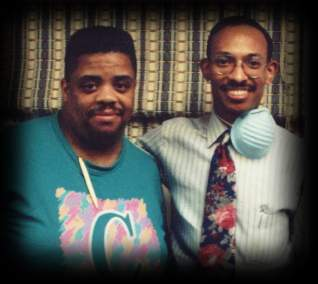 Dr. Scott with Rev. James Moore