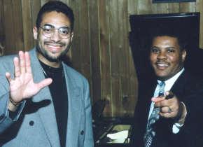 Sydney Scott with Rodney Bryant